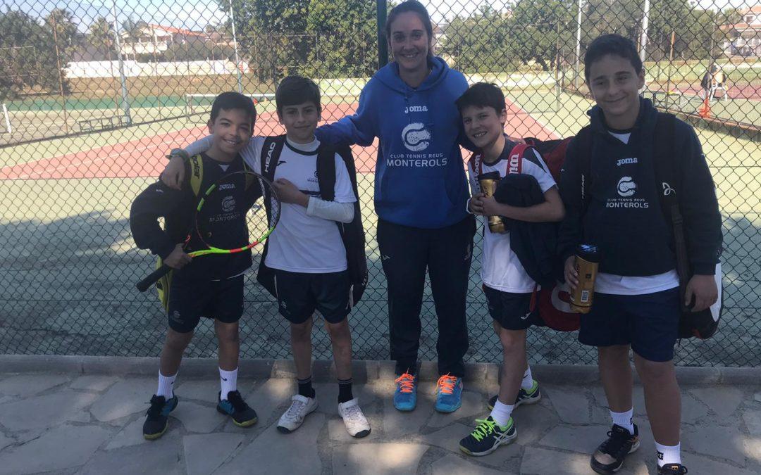 Victòria de l'Aleví Masculí contra el CT Calafell en la Lliga Catalana de Tennis