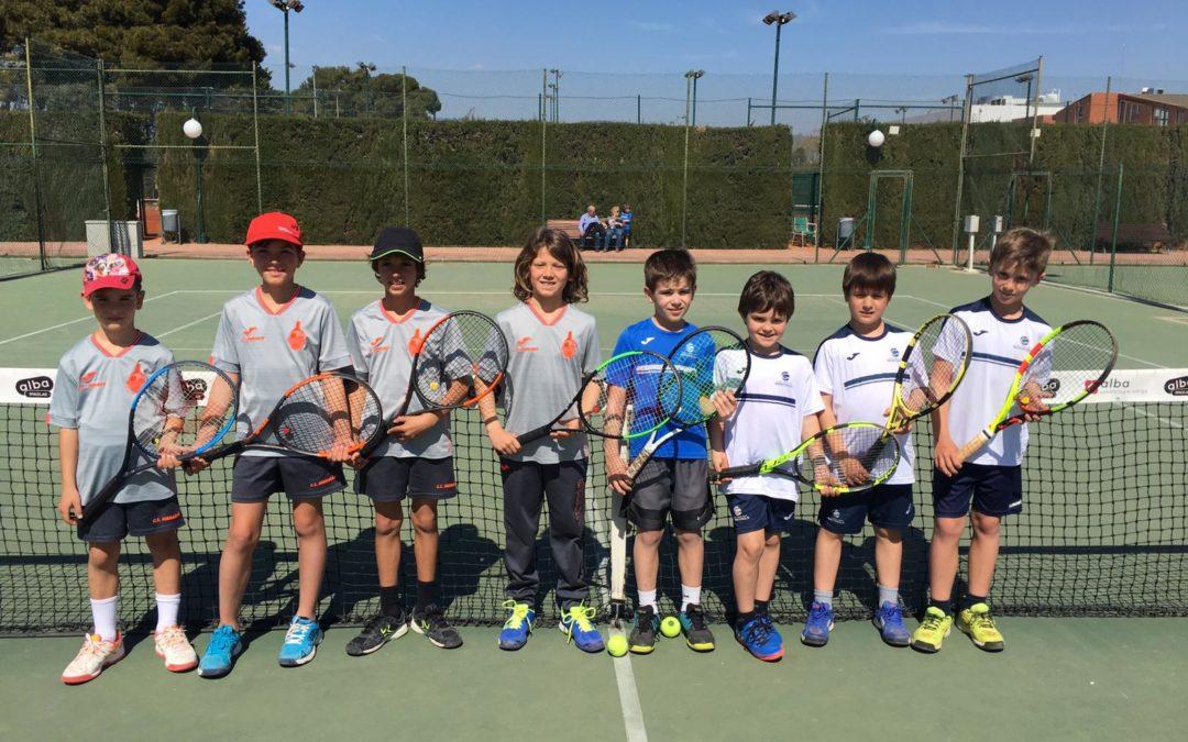 Derrota del Benjamí Masculí contra el CT Serramar en la Lliga Catalana de tennis