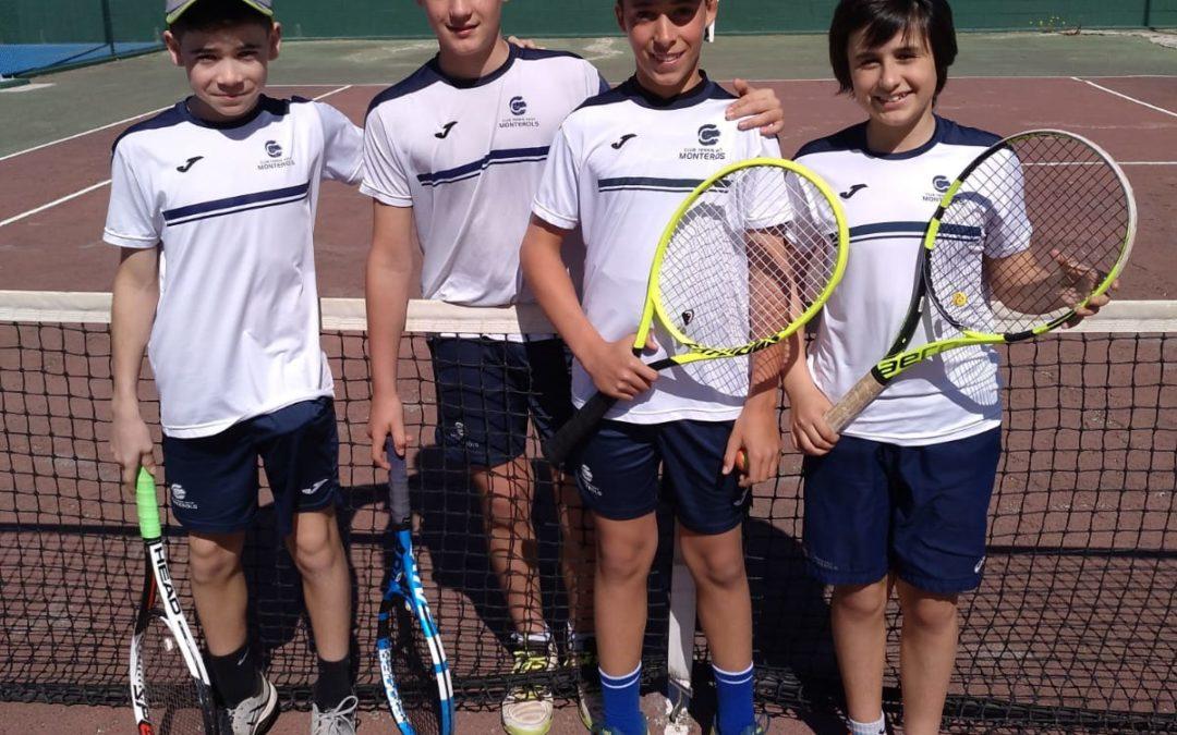 L'infantil Masculí guanya de forma contundent al CN Calafell en la Lliga Catalana de tennis