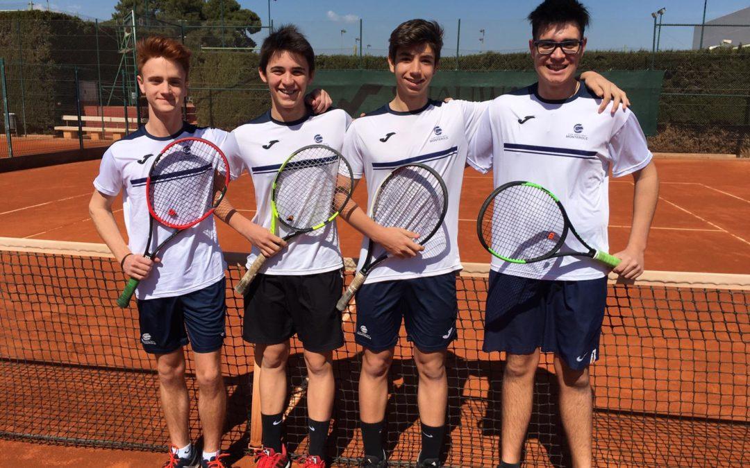L'equip Júnior Masculí B cau derrotat contra el Reus Deportiu en la Lliga Catalana de tennis