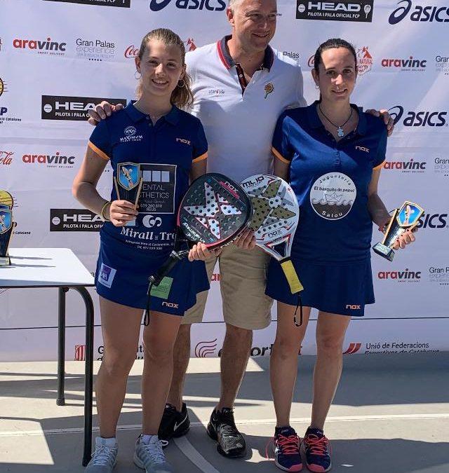 Laura Casanova i Maria Freixas, campiones del Bronze del Club Spartans de Calafell