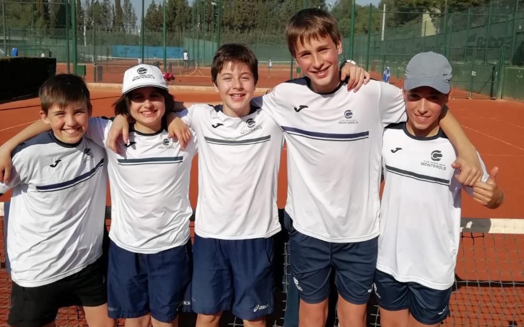 L'Equip Infantil Masculí es classifica per disputar les semifinals del Campionat de Catalunya categoria Or guanyant en l'últim moment al Tennis Tarragona