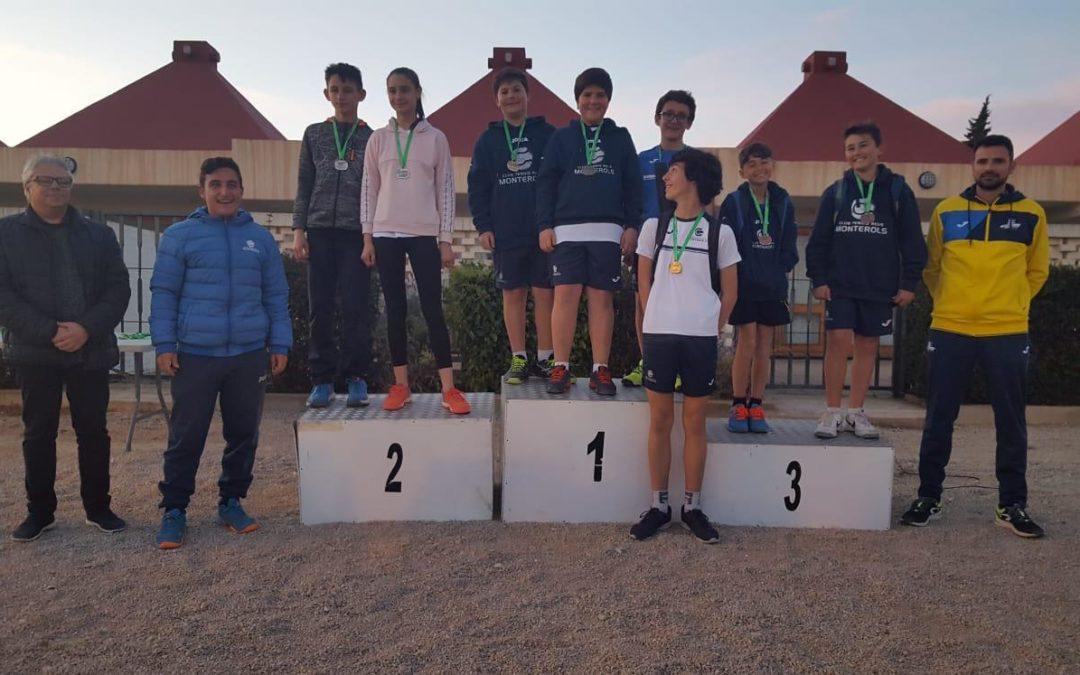 Podium per el Monterols en la última jornada dels Jocs Esportius Escolars