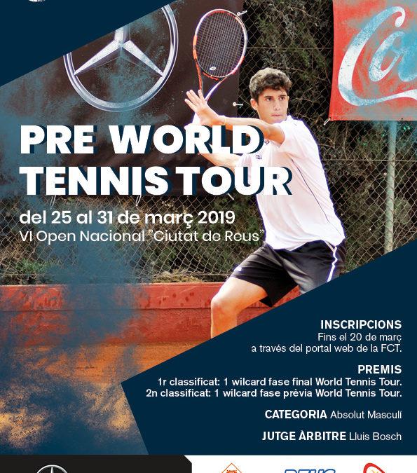 Tot a punt per l'inici del VI Open Nacional Ciutat de Reus Pre World Tennis Tour Autolica Mercedes Benz 2019.