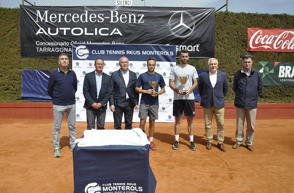 Eduard Esteve, campió del XX Torneig Internacional de Tennis ITF World Tennis Tour Autolica Mercedes Benz del Monterols