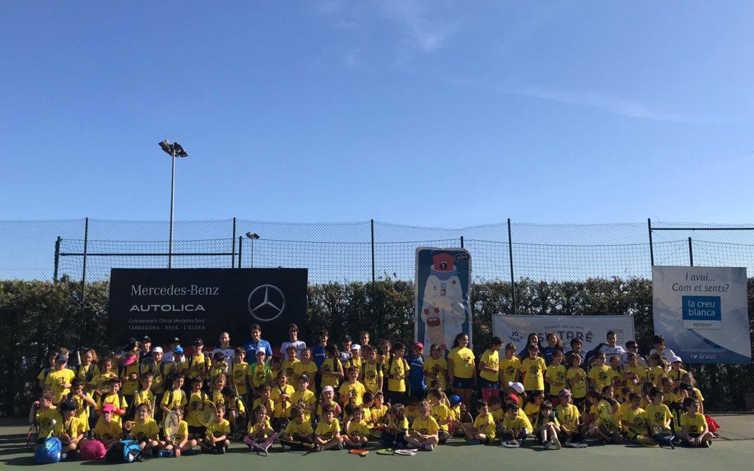 Gran tarda de Club en la trobada de minitennis de l'ITF World Tennis Tour d'aquest passat dissabte