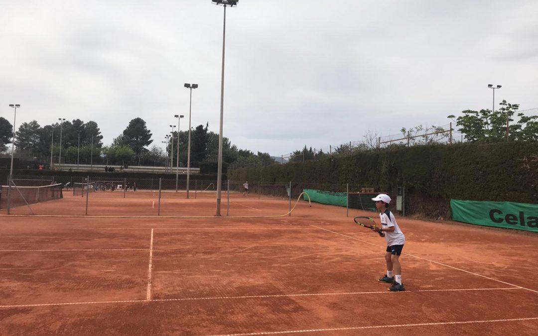 Resultats dels alumnes de l'escola de tennis a les finals del Circuit Head Promeses al CT Valls