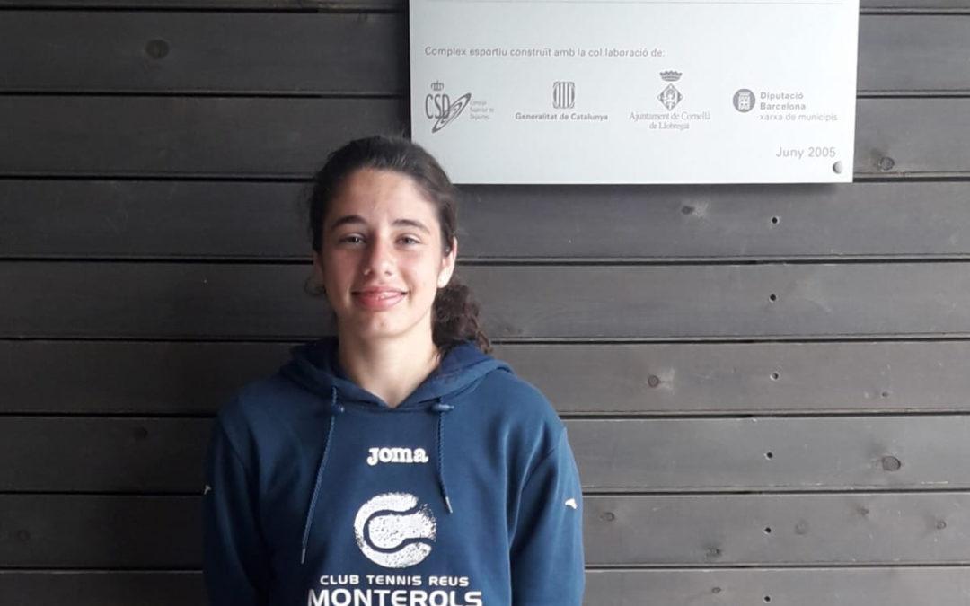 Àngela Pérez arriba a les semifinals del Campionat de Catalunya Cadet