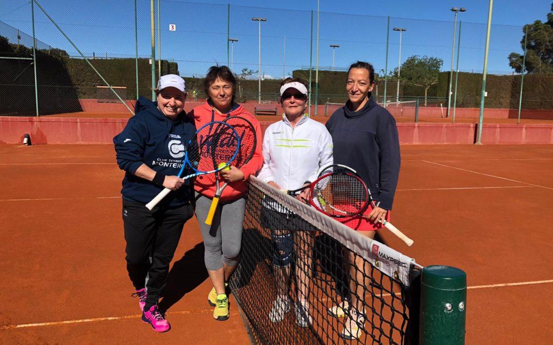 El sénior femení +30 s'imposa per 2 a 1 contra el CT Comarruga en el Campionat Interclubs +30 de dobles femení