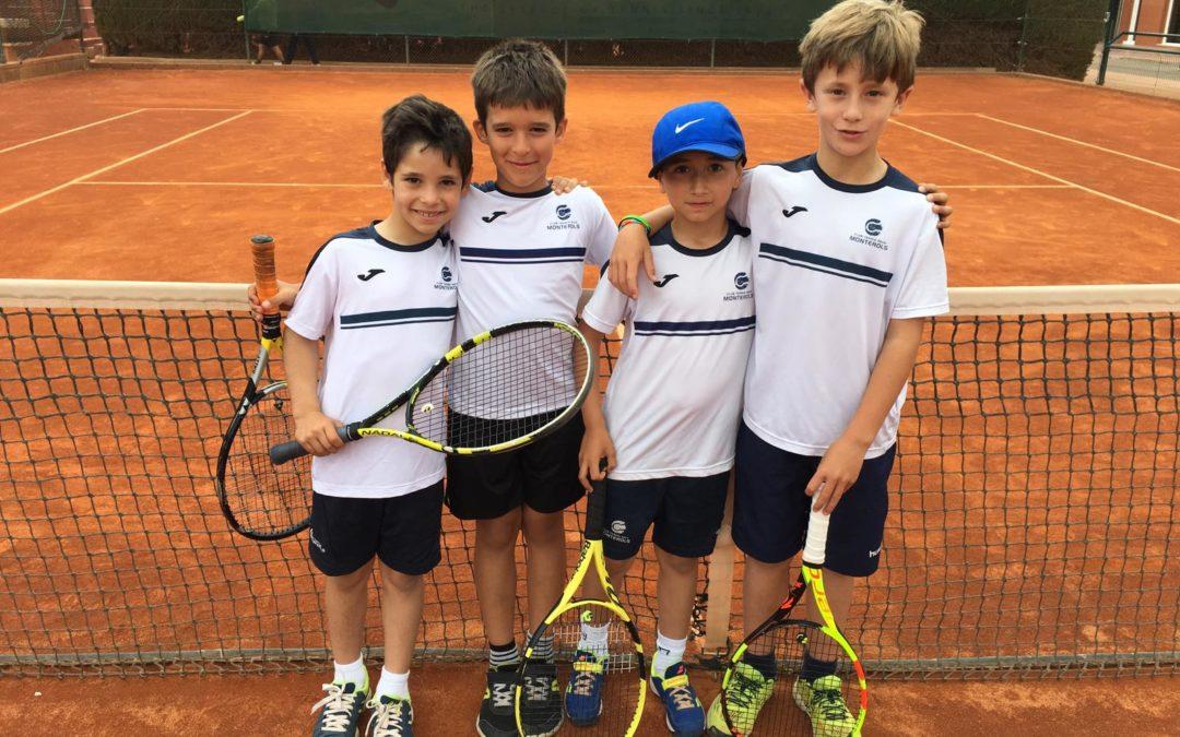 El benjamí masculí cau derrotat contra el CT Malgrat en la fase final de la Lliga Catalana de Tennis