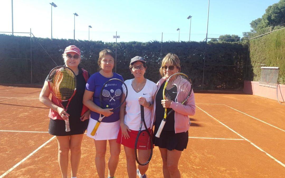Derrota del Femení +30 contra el CT Barà en el Campionat de dobles femenins +30