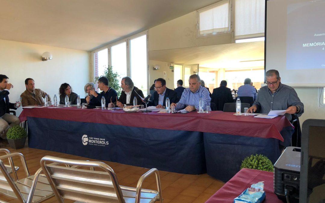 El Club Tennis Reus Monterols celebra l'Assemblea de Socis