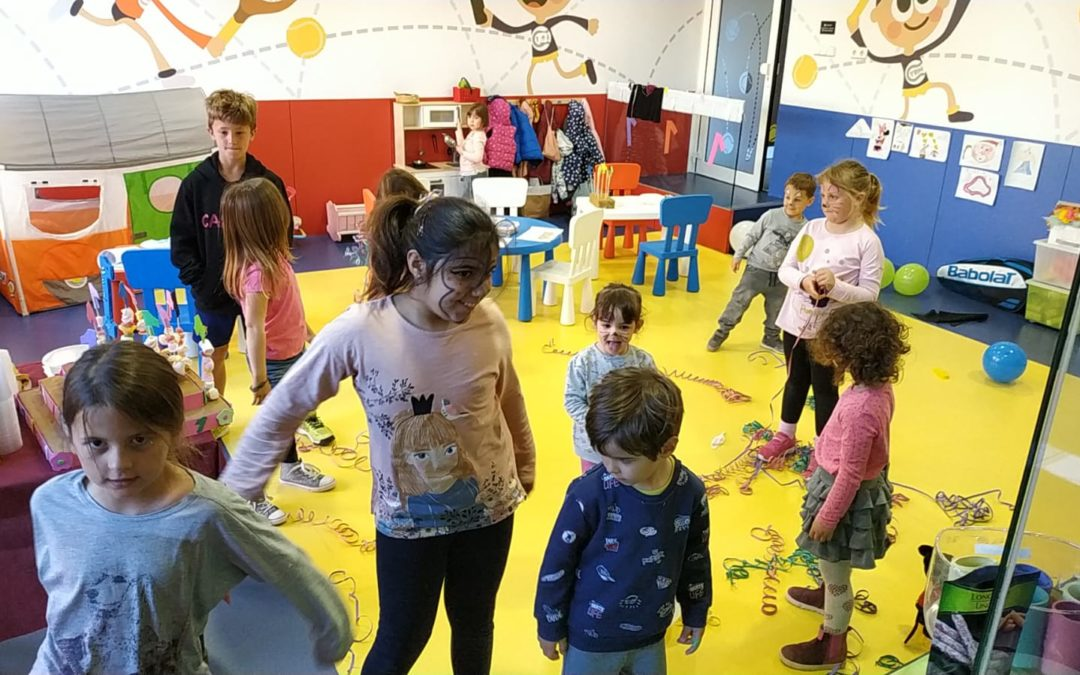 L'Espai Infantil del Monterols ja té un any. Mira les fotos de la festa d'aniversari