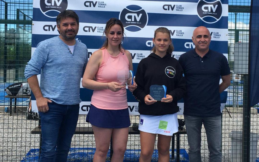 Maria Freixas i Mercedes Moreno, sots-campiones del Bronze disputat al CT Valls