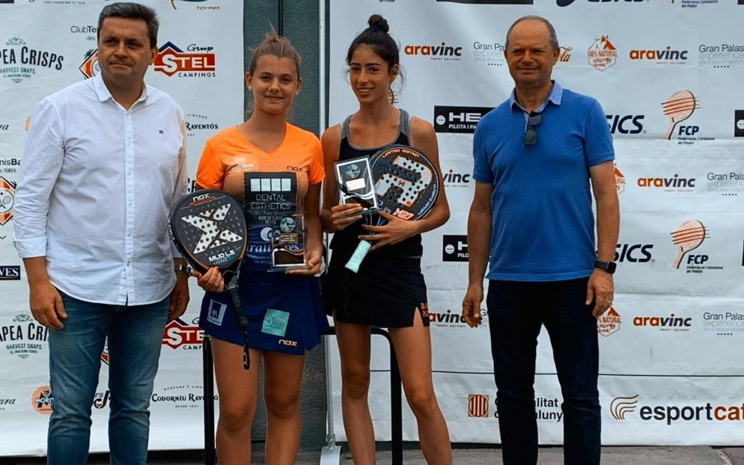 Maria Freixas es proclama semifinalista del Super Gran Slam de Pàdel de menors i campiona absoluta del Bronze