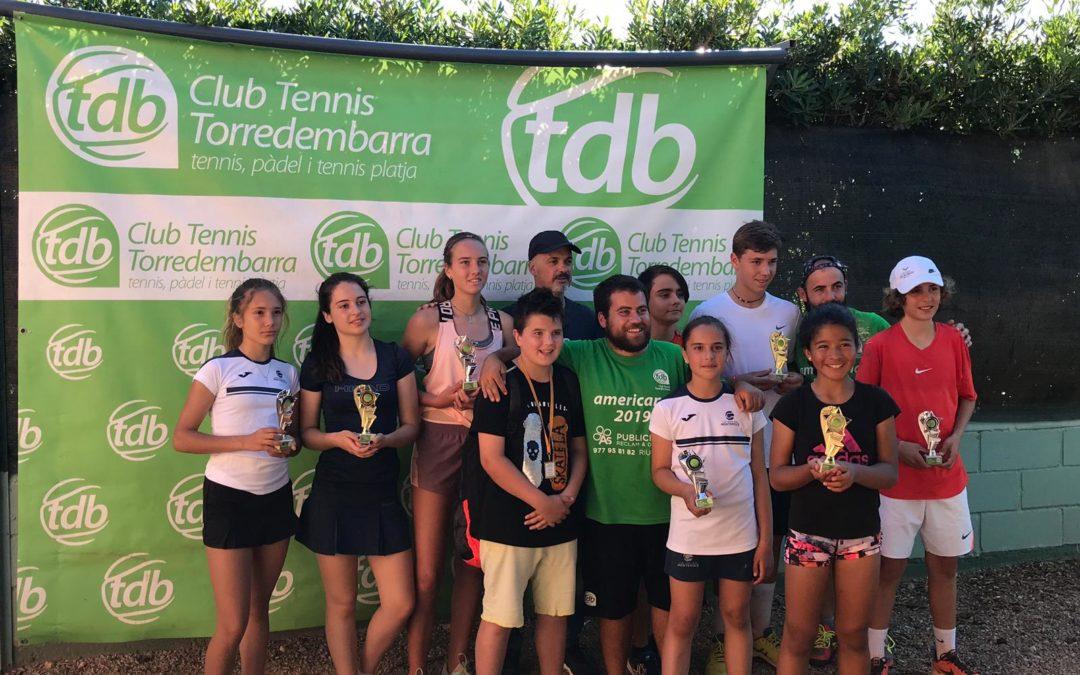 Finalitza el circuit promeses al Tennis Torredembarra amb bons resultats dels nostres alumnes.