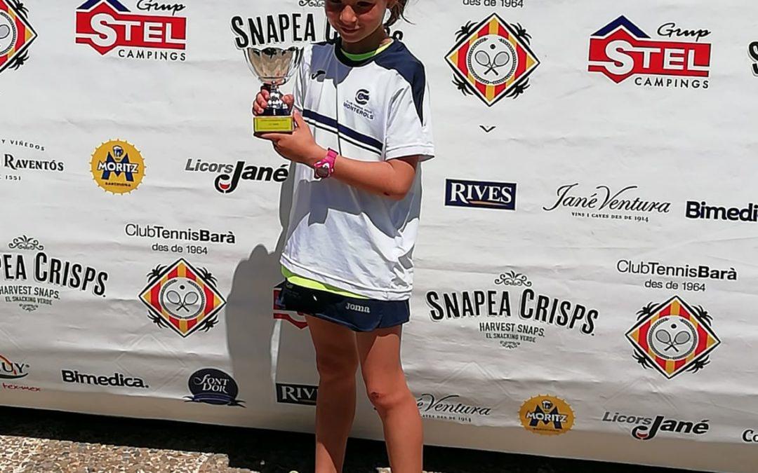 Es disputen les finals del circuit de la Copa Catalunya organitzat a les pistes del Club de Tennis Barà.