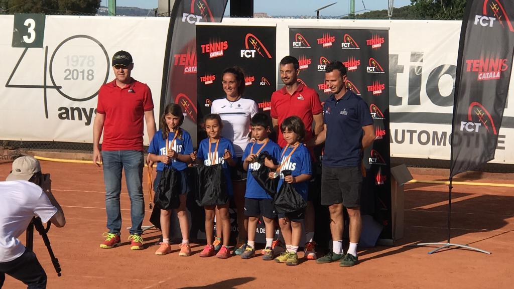 El Club Tennis Reus Monterols queda segon en la trobada de Supertennis de la Federació Catalana de Tennis