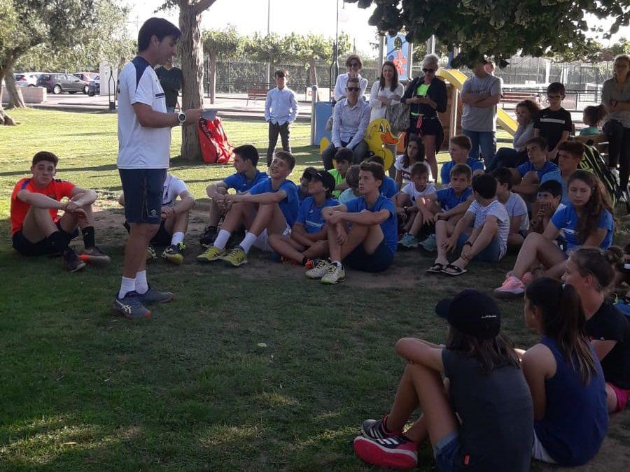 Festa de final de curs del grup de competició de tennis