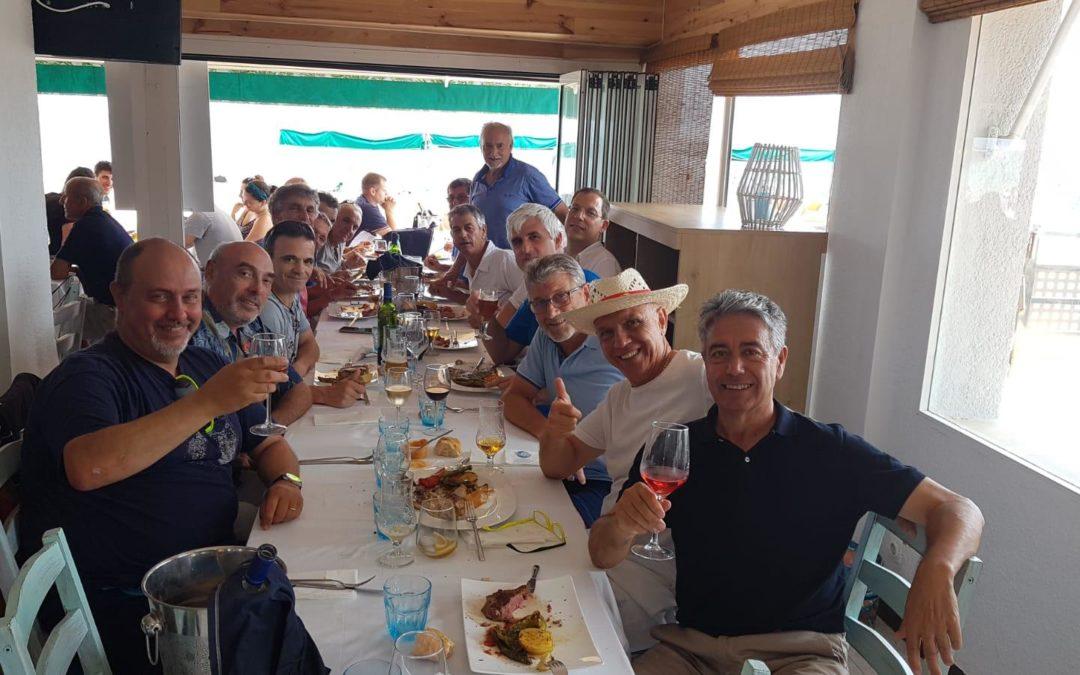 La penya Amics Tennis Dissabte celebra el seu tradicional dinar d'estiu