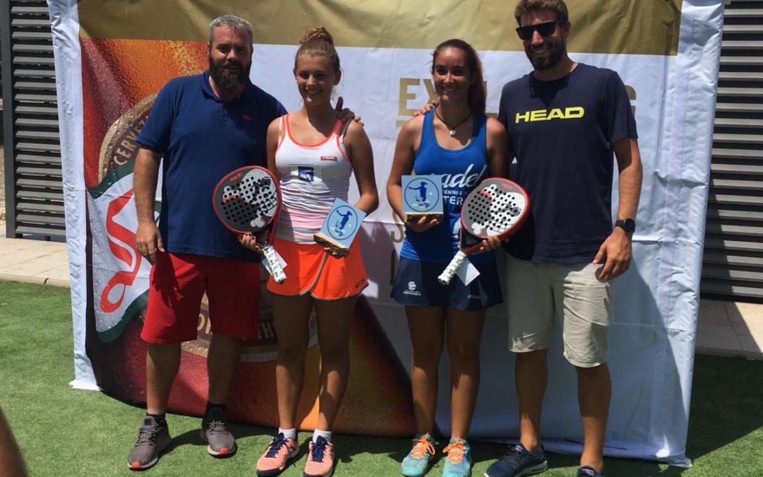 Sara Palacios i Maria Freixas, campiones del Lady Cup de Pàdel del Pàdel Cambrils
