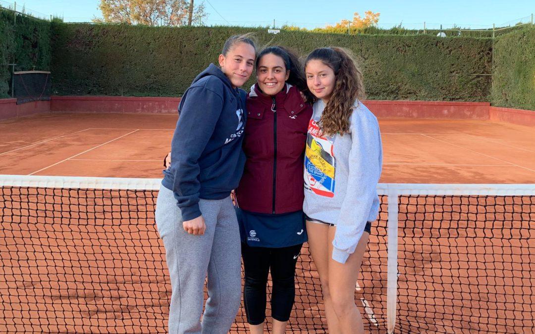 Empat a 2 de l'Absolut Femení contra el CTT en la Lliga Catalana de tennis