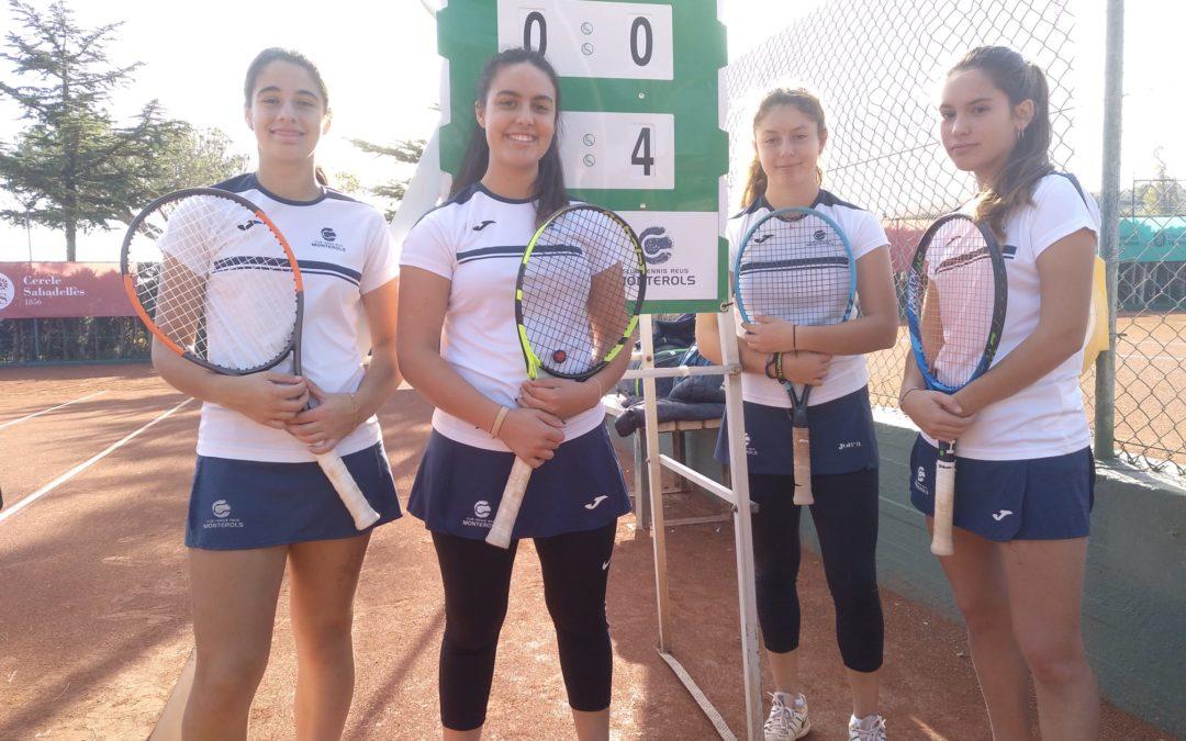L'Absolut Femení del Club cau derrotat en el Campionat de Catalunya Absolut per equips