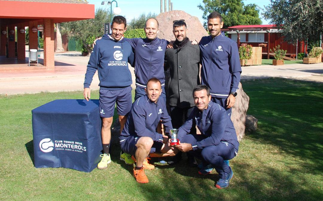 L'equip Sénior +40 del Monterols guanya el Campionat d'Espanya de tennis per equips