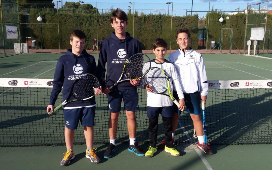 Lliga Catalana de tennis: Derrota del Monterols davant del Nàstic de Tarragona