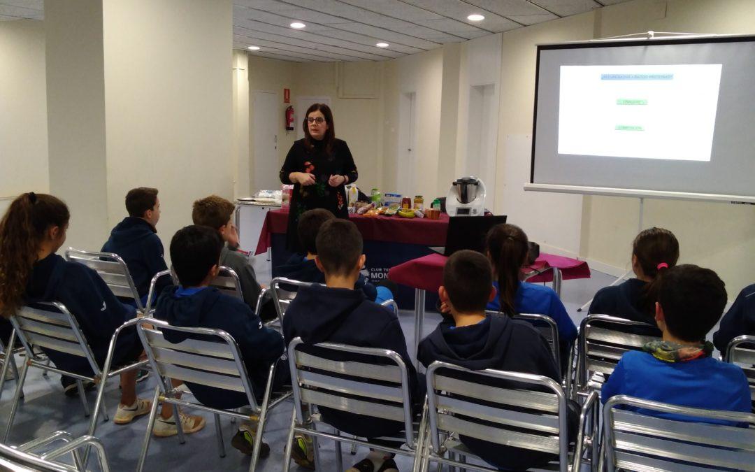 Programa d'assessorament de nutrició esportiva de l'escola de tennis de competició
