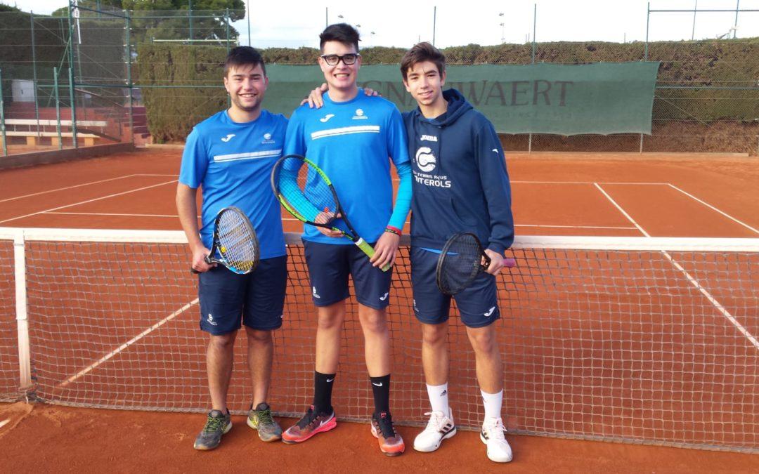 Lliga Catalana de tennis: Un Cunit superior al Monterols s'imposa al Júnior Masculí del Club