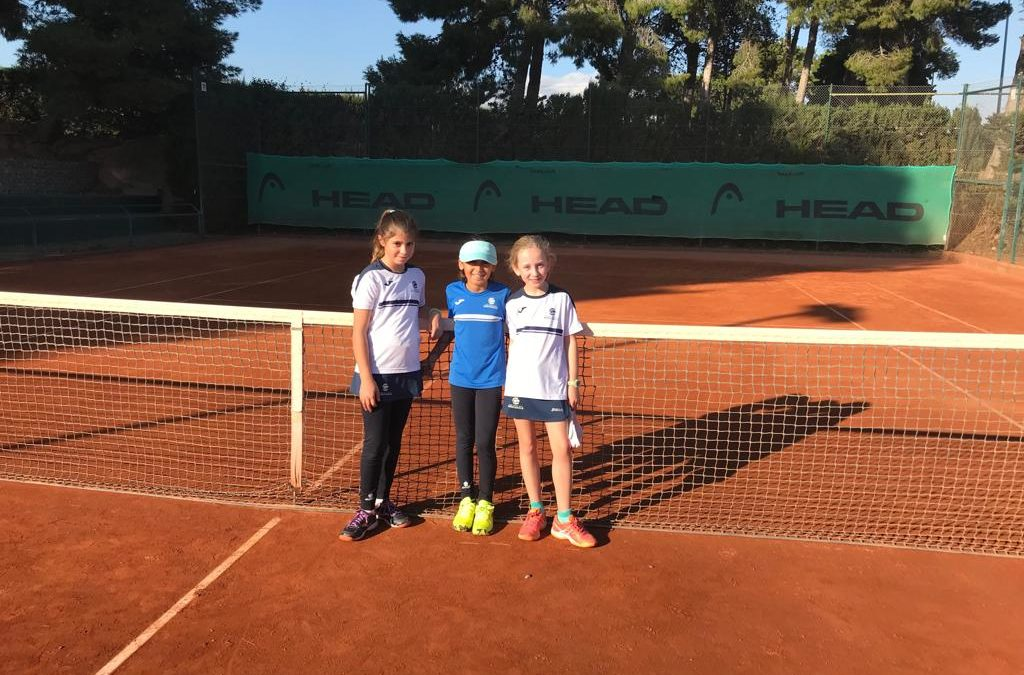 Victòria de prestigi del benjamí femení B davant del Tennis Lleida en la Lliga Catalana de tennis