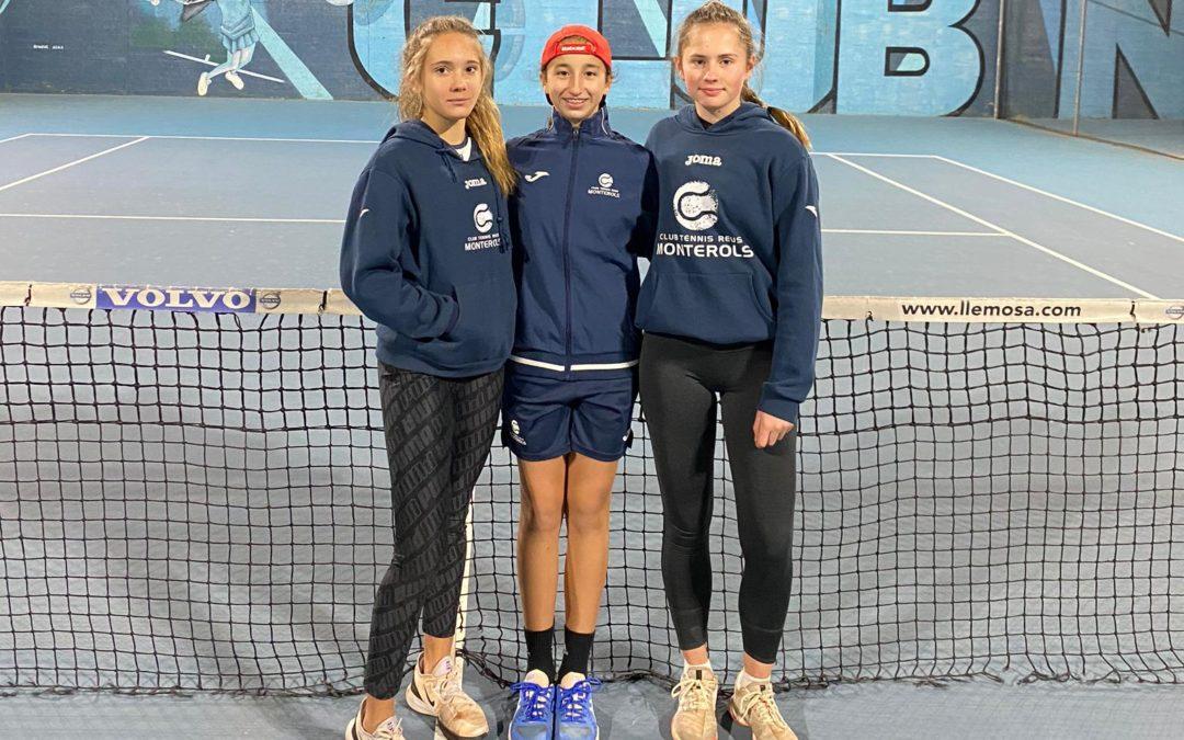 Els equips Aleví i Cadet femení del Club s'enfronten al CN Lleida en la Lliga Catalana de tennis