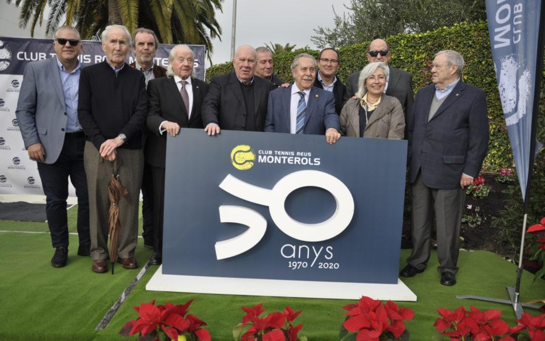 El Club Tennis Reus Monterols celebra el Vermut Social de Nadal i dona el tret de sortida al cinquantenari del Club