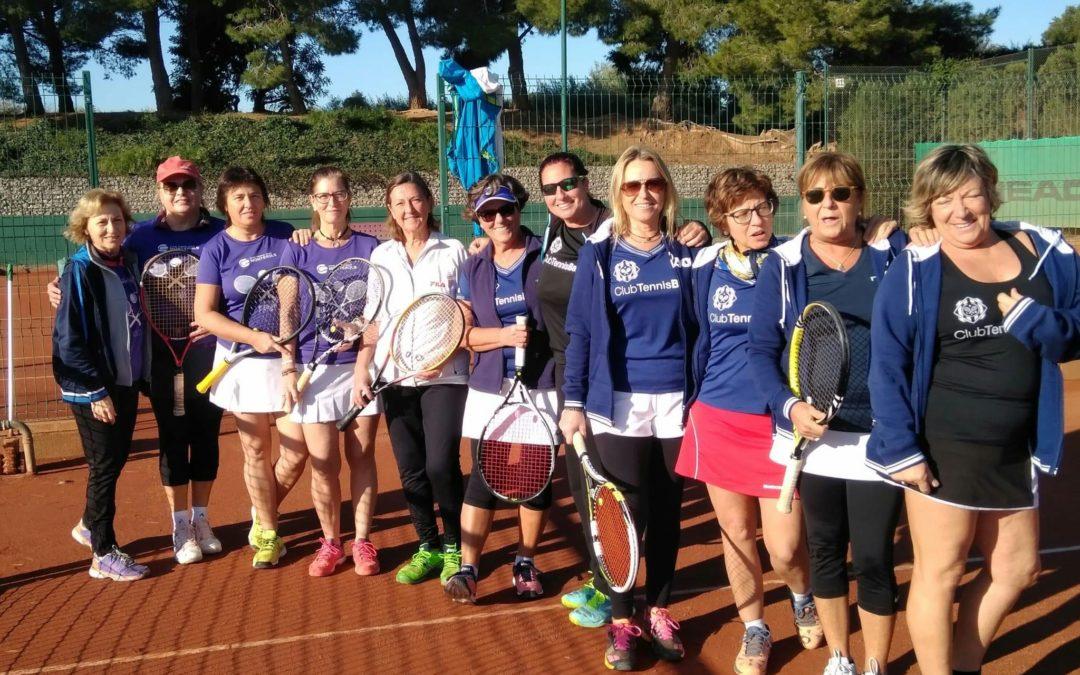 L'equip Femení + 30 de tennis perd a casa contra el CT Barà en el Campionat Interclubs