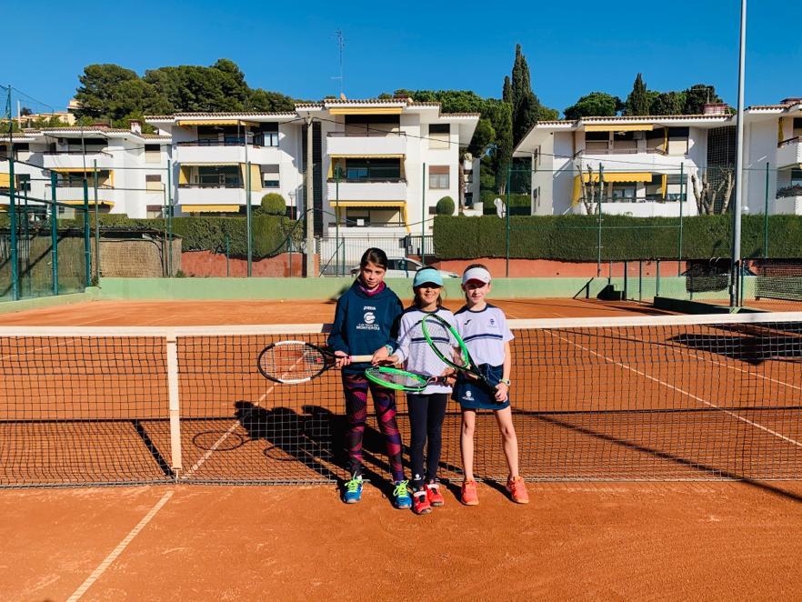 Resultat del Benjamí Femení B contra el CTT en la Lliga Catalana de tennis