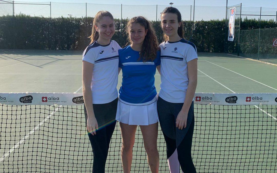 El Cadet Femení A s'imposa al Tennis Tarragona en la Lliga Catalana de tennis