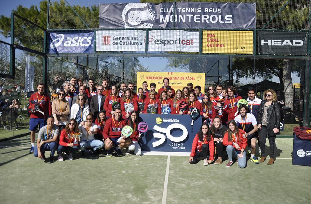 El RC Polo es proclama campió absolut del Catalunya per equips de pádel de 1ª categoria del Monterols