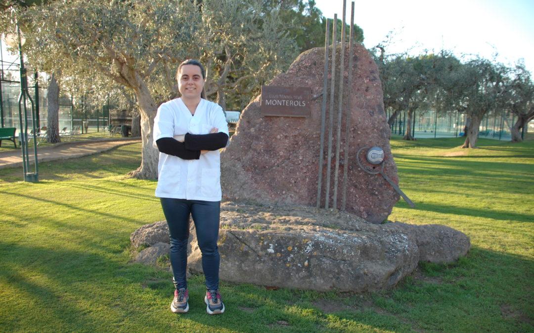 Sònia Cros, nova fisioterapeuta del Club Tennis Reus Monterols