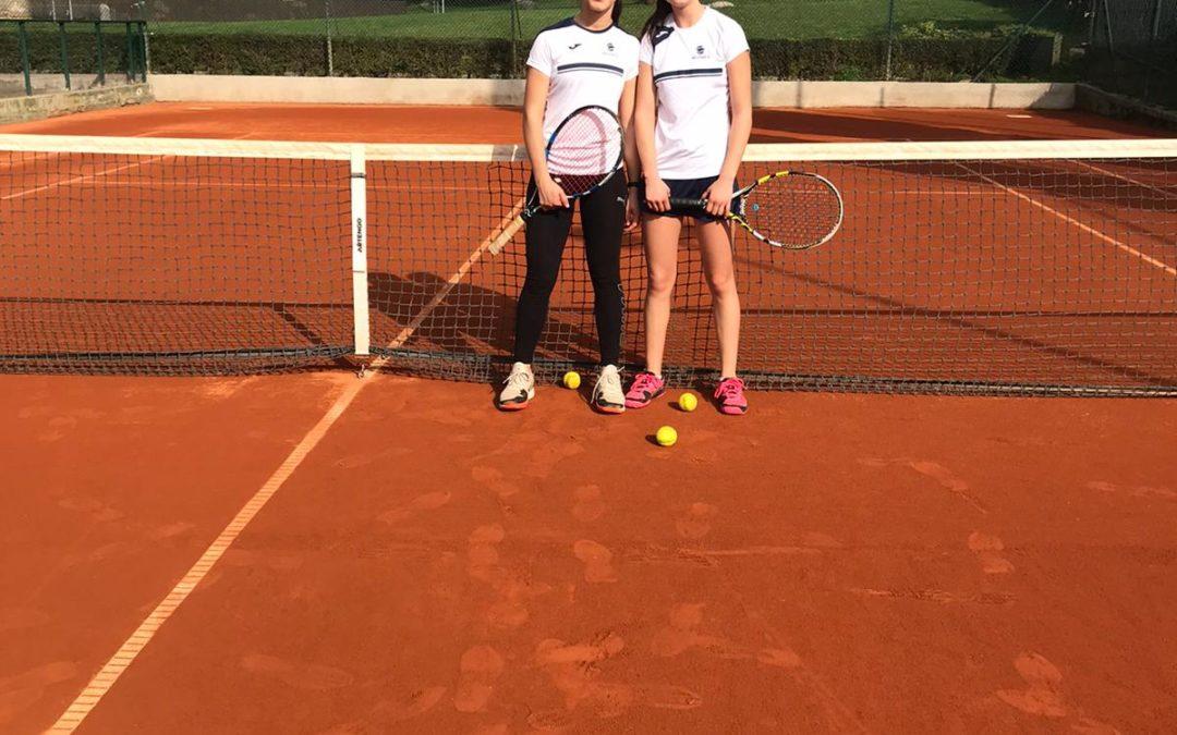 L'Infantil Femení B cau derrotat contra el Vallpineda en la Lliga Catalana de tennis