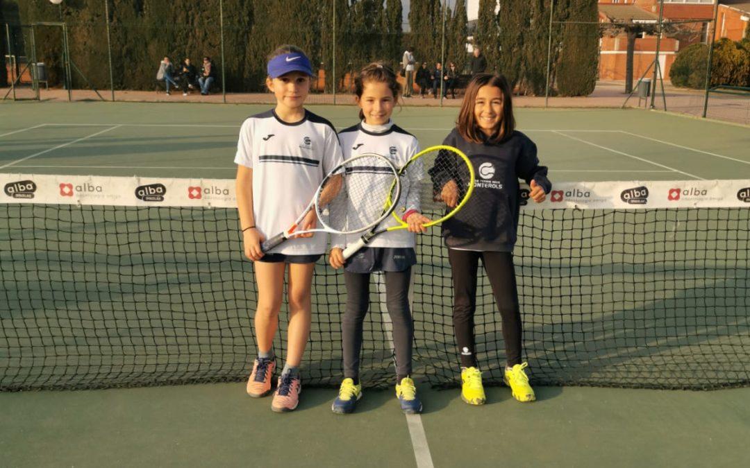 L'equip Benjamí Femení A s'imposa al CT Lleida en la Lliga Catalana de tennis