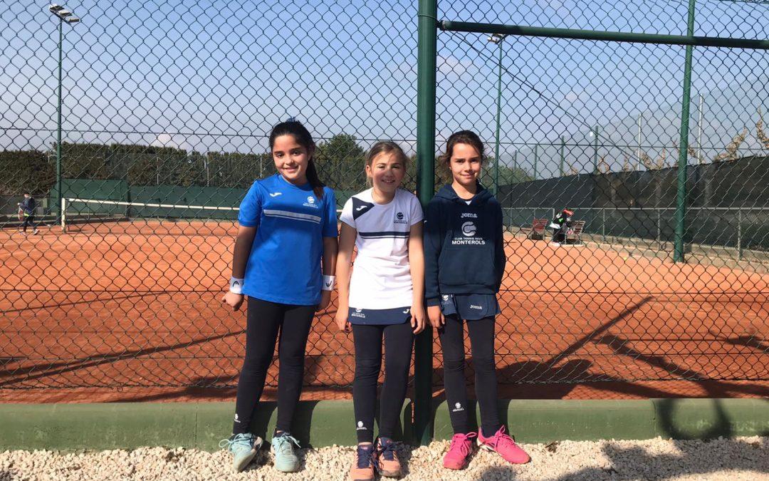 El Benjamí Femení B guanya al Torredembarra en la Lliga Catalana de tennis