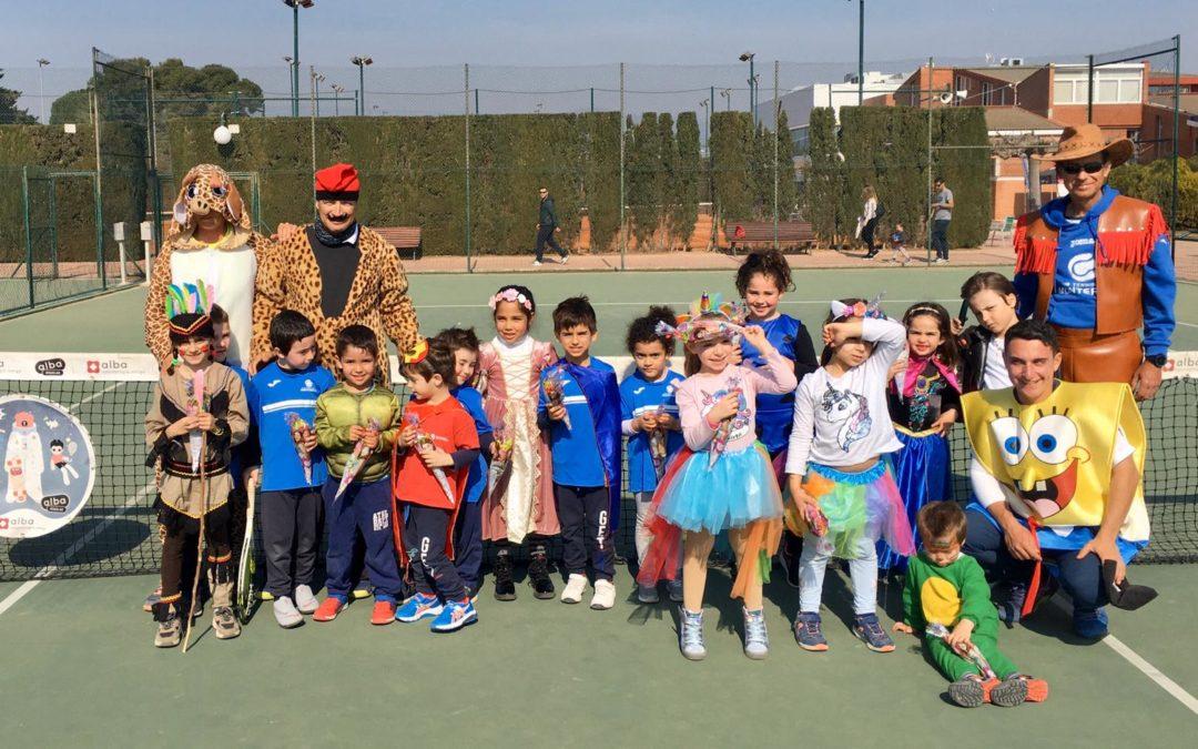 Galeria d'imatges de la Festa de Carnaval de l'escola de tennis del Monterols