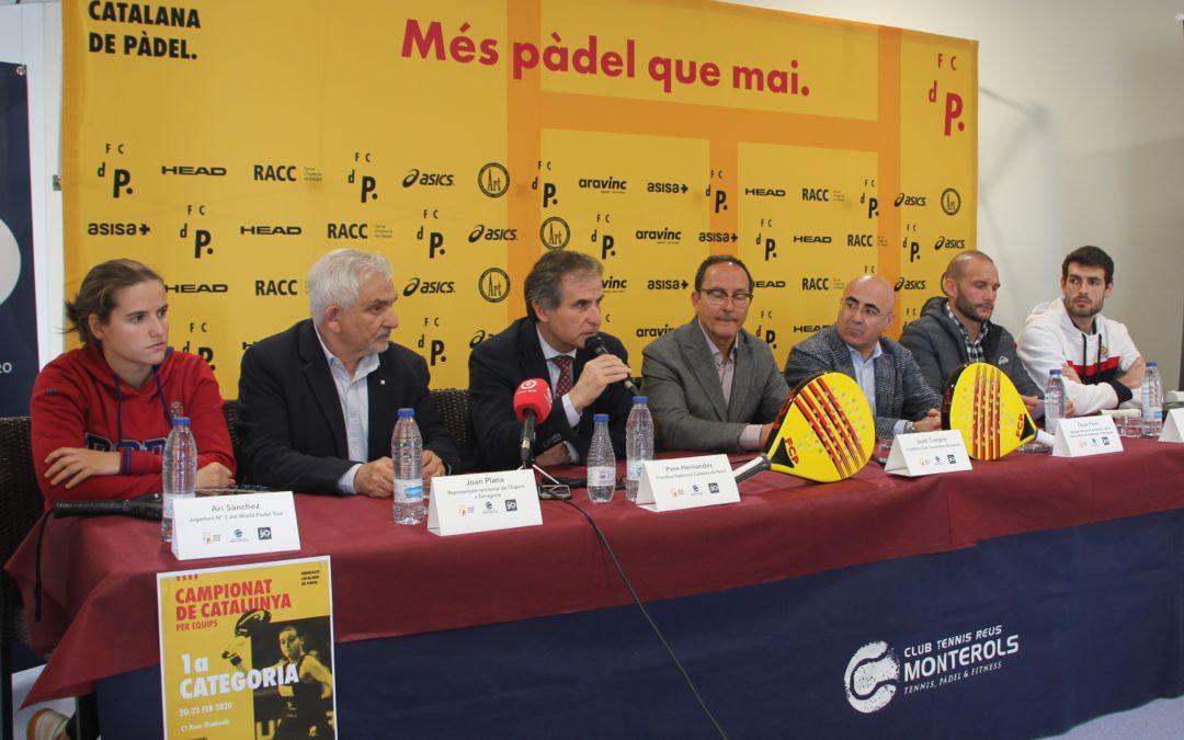 El millor pàdel per equips de primera es viu al club tennis reus monterols