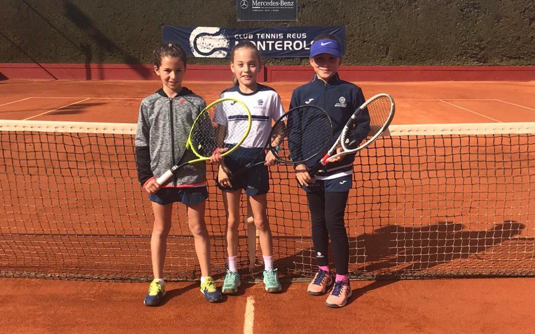 Victòria del Benjamí Femení A contra el Club Tennis Tarragona en la Lliga Catalana de tennis