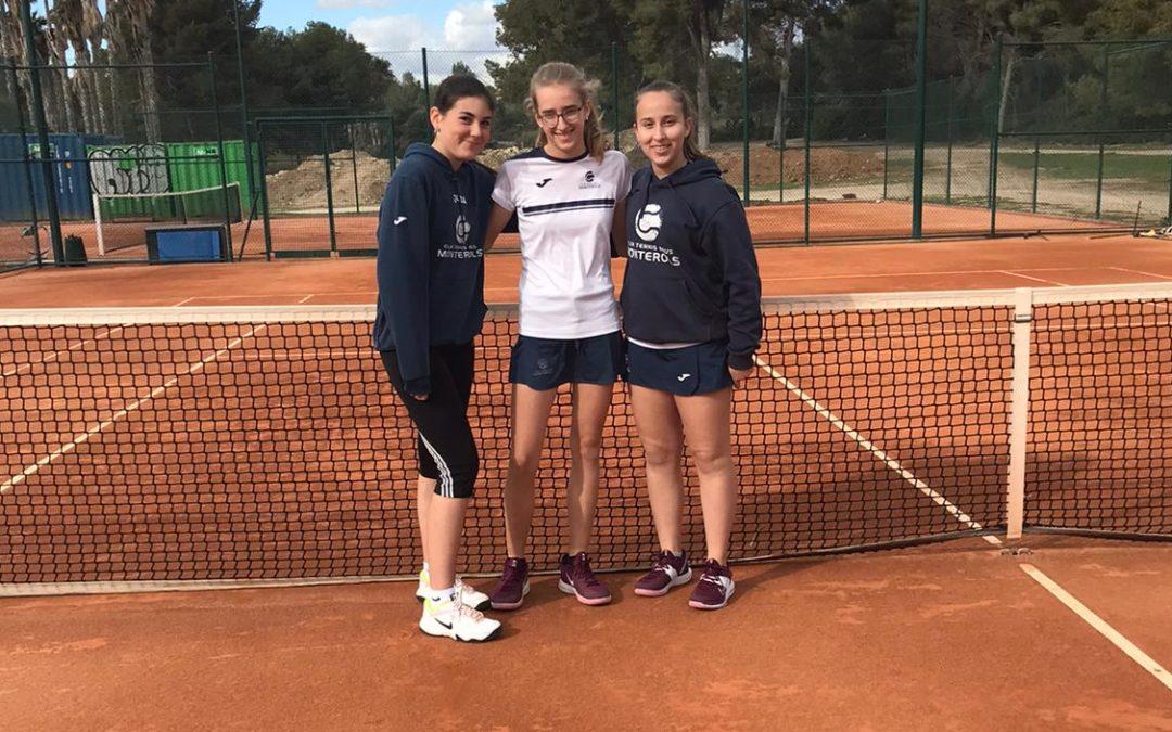 El Cadet  Femení B del Monterols s'imposa per 4 a 0 al Golf Costa Daurada en la Lliga Catalana de tennis