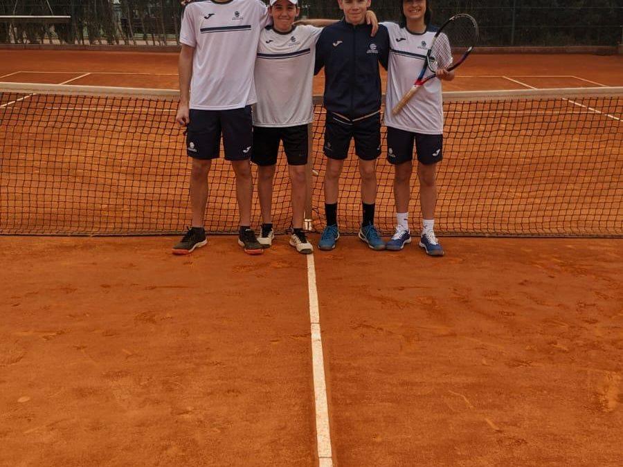 Ajustada victòria del Cadet  Masculí A contra el Golf Costa Daurada en la Lliga Catalana de tennis