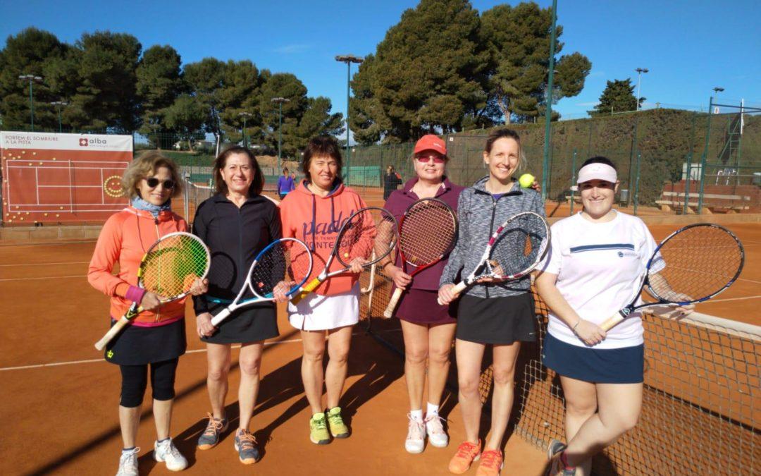 L'equip Femení +30 s'imposa al CT Cubelles en el campionat Interclubs de dobles femení de tennis