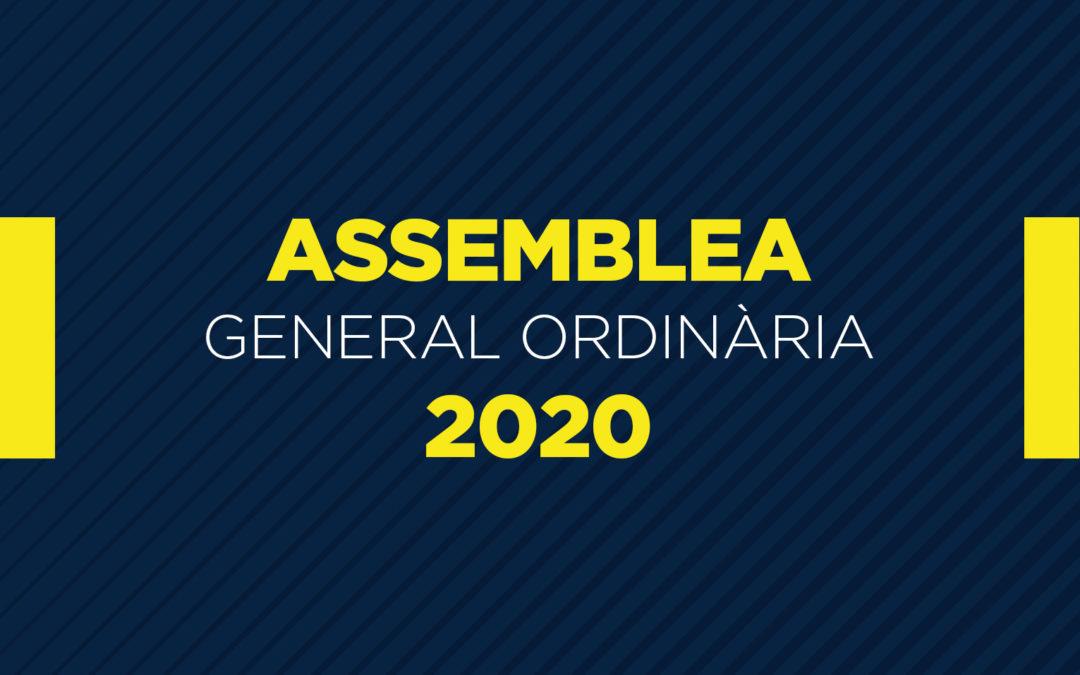 Resum de l'Assemblea General Ordinària de Socis