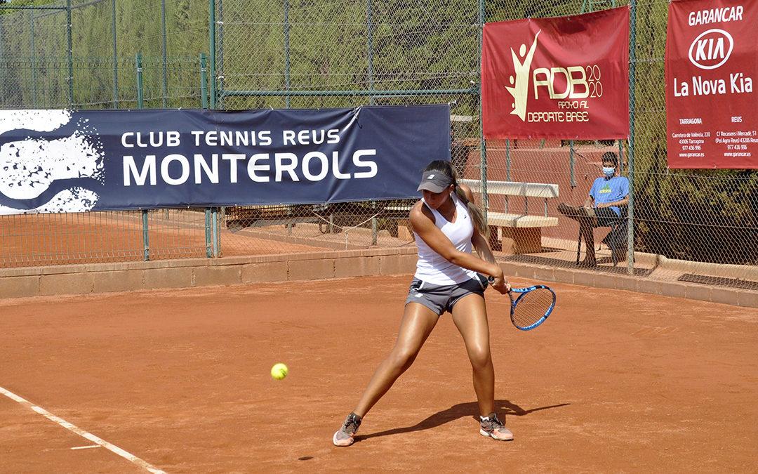 Es defineixen les finals del Campionat d'Espanya Júnior de tennis del Monterols